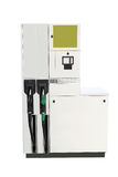 Petrol pump. Image of petrol pump under the white background stock photography