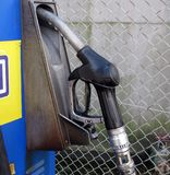 Petrol pump royalty free stock photo