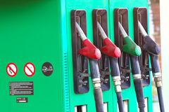 Petrol pump Royalty Free Stock Photography