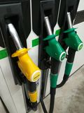 Petrol pump gas station Stock Image