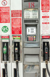 Petrol pump in gibraltar Stock Photography