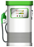 A petrol pump. Illustration of a petrol pump on a white background Stock Photos
