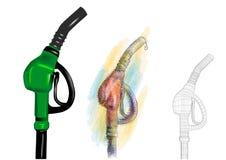 Petrol pump Stock Photography