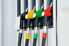 Petrol pump station Stock Images