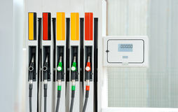 Petrol pump station Royalty Free Stock Photos