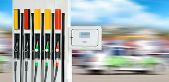 Petrol pump station Stock Image