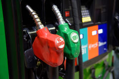 Petrol pump station Royalty Free Stock Photography