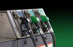 Petrol pump Royalty Free Stock Photos