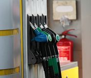 Petrol pump with unleaded. Image of petrol pump with unleaded stock image