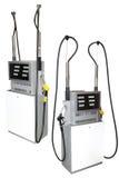 Petrol pumps Stock Photos