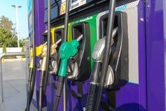 Petrol pumps.Awaits Royalty Free Stock Photos