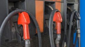 Petrol pumps Royalty Free Stock Image