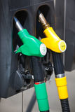 Petrol pumps Royalty Free Stock Images