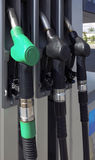 Petrol pumps Stock Images