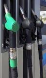 Petrol pumps Stock Images