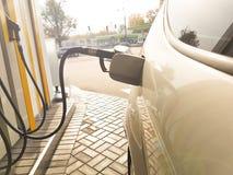 Petrol refueling machine Stock Image