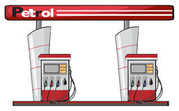 A petrol station Stock Image