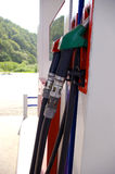 Petrol-station. Royalty Free Stock Image