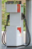 Petrol station. Fuel column on a petrol station. travel industry stock photo