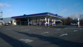 Petrol station Royalty Free Stock Photos