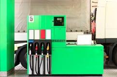 Petrol station. Car refueling on a petrol station stock photos
