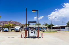 Petrol station in Lost Lake, California, USA Stock Photo