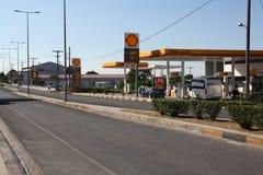 Petrol station Shell Stock Photography