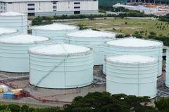 Petrol tankar arkivbild