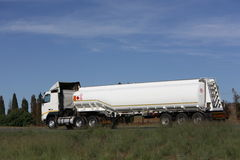 Petrol Tanker Stock Photo
