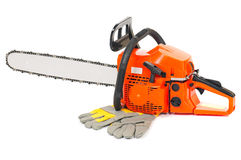 Chain saw Royalty Free Stock Image