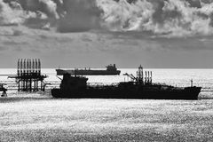 Petroleiro de óleo Imagens de Stock Royalty Free