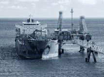 Petroleiro de óleo Foto de Stock Royalty Free