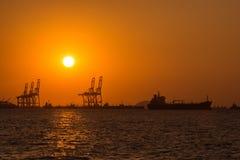 Petroleiro de óleo, petroleiro do gás Fotografia de Stock Royalty Free