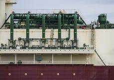 Petroleiro de GNL Imagem de Stock Royalty Free