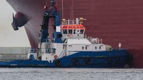 Petroleiro de GNL fotografia de stock royalty free