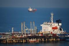 Petroleiro de petróleo Foto de Stock Royalty Free