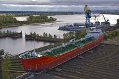 Petroleiro de petróleo imagem de stock royalty free