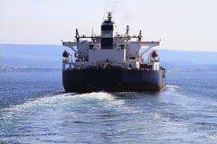 petroleiro do navio Imagens de Stock Royalty Free
