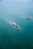 Petroleiro do oceano fotos de stock