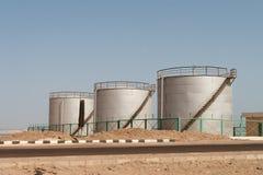 Petroleiros de petróleo Foto de Stock
