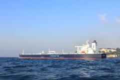 Petrolero de los productos derivados del petróleo Fotos de archivo libres de regalías
