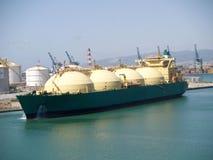 Petrolero del gas Imagen de archivo