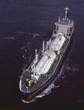 Petrolero del LPG foto de archivo libre de regalías