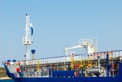 Petrolero flúido del gas Imagen de archivo libre de regalías
