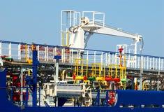 Petrolero flúido del gas Fotografía de archivo libre de regalías