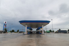 Petroleum Authority of Thailand Oil Station Royalty Free Stock Photography