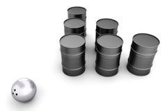 Petroleum Bowling Stock Photos