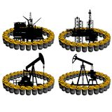 Petroleum business-1 Royalty Free Stock Photo