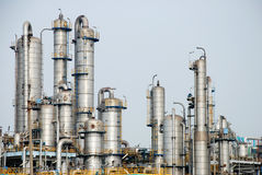 Petroleum Chemical Factory Stock Image