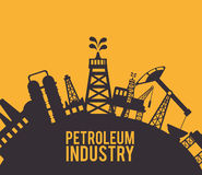 Petroleum design. Stock Photography